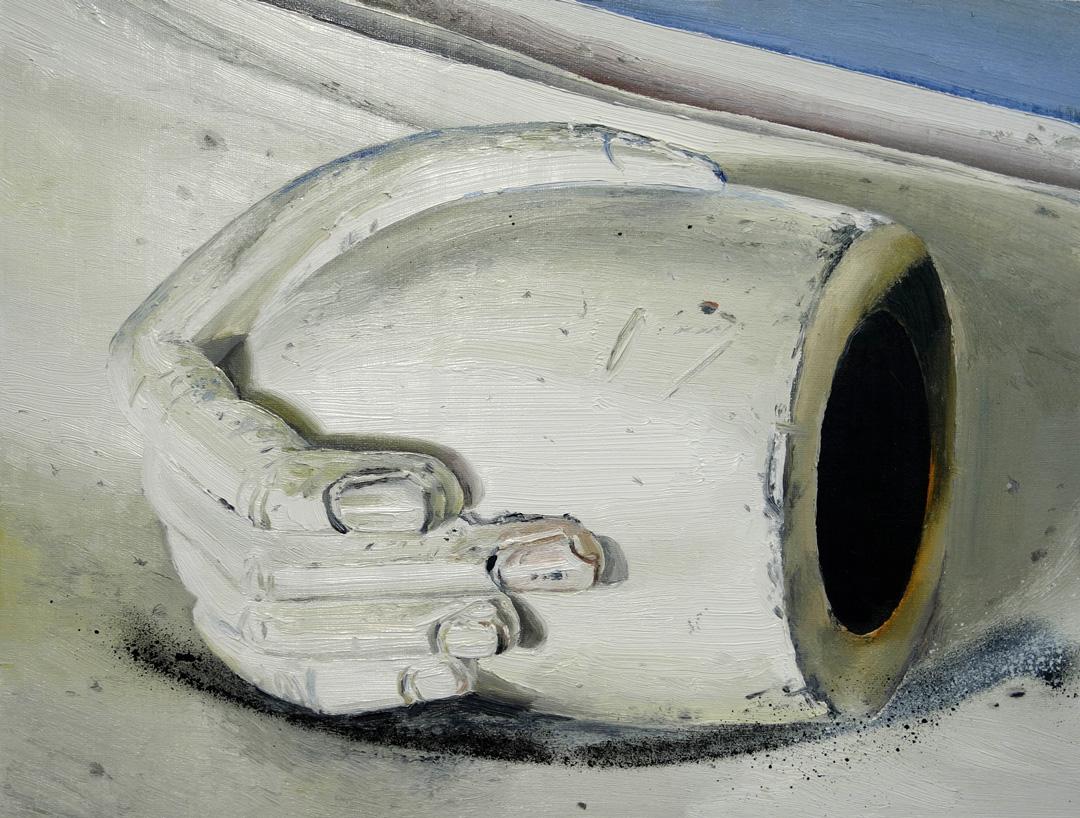Mireille Blanc, Pipe (2), 2018