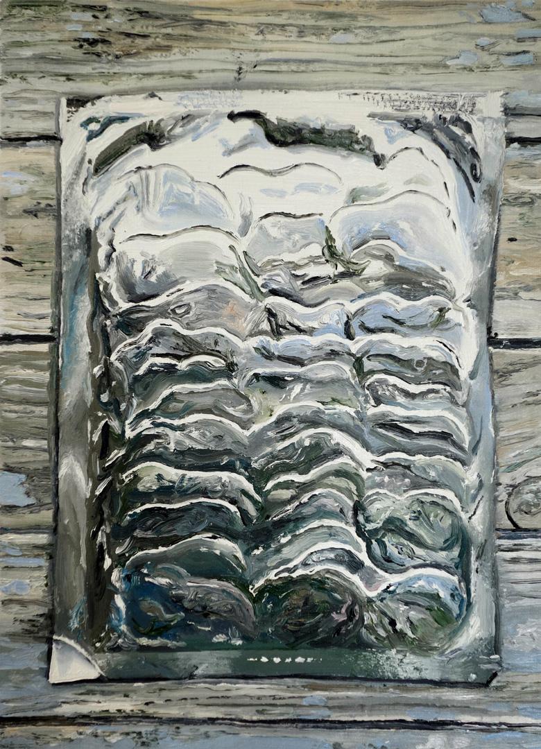 Mireille Blanc, Reliefs, 2018