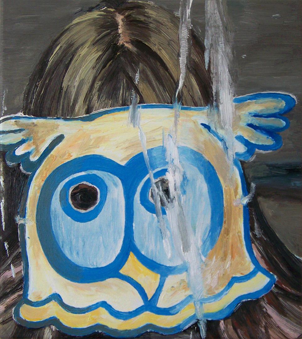 Mireille Blanc, Elodie au masque, 2011