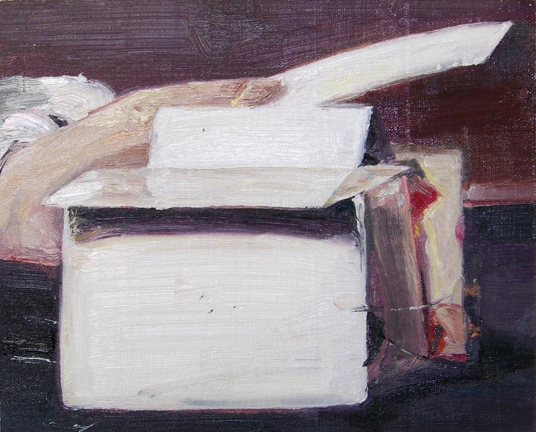 Mireille Blanc, Le château - Chardin, 2011